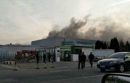 Pin bị lỗi gây hỏa hoạn tại nhà máy sản xuất pin của Samsung