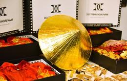 NTK Đỗ Trịnh Hoài Nam mang nón lá dát vàng quảng bá áo dài tại Australia