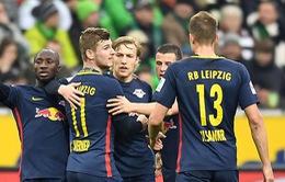 Vòng 21 Bundesliga: Leipzig thắng kịch tính, Schalke 04 chia điểm tiếc nuối