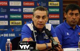Thua trận đầu, HLV Rodrigo vẫn tin Thái Sơn Nam sẽ giành vé vào tứ kết