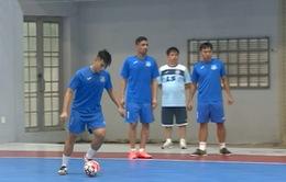 CLB Thái Sơn Nam chuẩn bị cho trận tứ kết giải Futsal các CLB châu Á