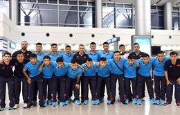 ĐT futsal Việt Nam lên đường tham dự Giải futsal quốc tế CFA 2017