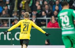 Werder Bremen 1-2 Dortmund: Trở lại top 4