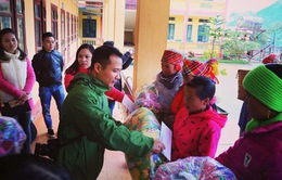 Ban TH Tiếng dân tộc chia sẻ khó khăn với đồng bão bị lũ quét