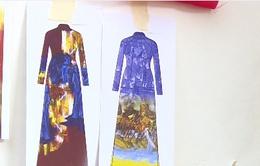 """Những thiết kế mới cho chương trình """"Hội họa Huế trong tà áo dài"""""""