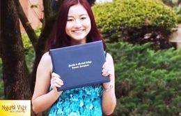 Cô gái Việt ước mơ trở thành Giáo sư trên đất Mỹ