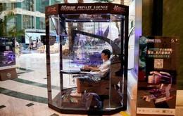 Máy chơi game cho các quý ông tại trung tâm mua sắm