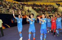 Thái Sơn Nam lách cửa hẹp vào tứ kết Giải vô địch futsal các CLB châu Á 2017