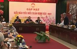 Chủ tịch Ủy ban Trung ương MTTQ Việt Nam dự gặp mặt kiều bào