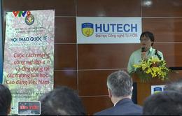 Ứng dụng Cách mạng công nghiệp 4.0 trong giáo dục đại học ở Việt Nam