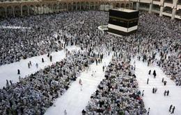 Bắt đầu lễ hành hương tại Thánh địa Mecca