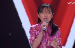 """Giọng hát Việt nhí: Lộ diện cô bé hát cải lương cực """"mùi"""""""