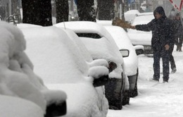 Bulgaria ban bố cảnh báo vàng về thời tiết giá lạnh
