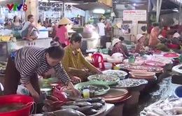Giá cả hải sản tăng nhẹ trong dịp nghỉ lễ 2/9