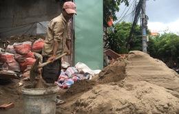 TP.HCM: Nhiều công trình tạm dừng thi công do giá cát tăng