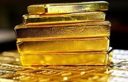 Giá vàng lên cao do đồng USD xuống giá