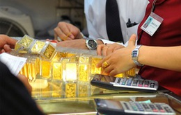Giá vàng đồng loạt giảm phiên đầu tuần