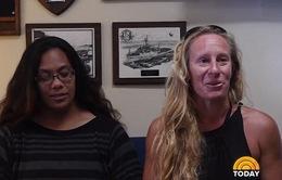 Giải cứu 2 phụ nữ Mỹ lênh đênh trên biển 5 tháng