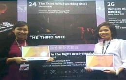 """""""Người vợ ba"""" đoạt 2 giải ở Diễn đàn điện ảnh Hong Kong"""