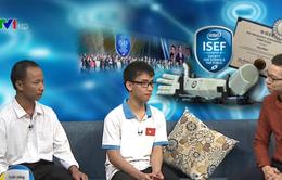 Nam sinh đạt giải Ba tại Intel ISEF 2017 kể lại hành trình khó khăn sang Mỹ dự thi