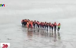 Argentina: Giải cứu 123 giáo viên mắc kẹt ngoài biển