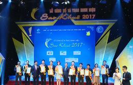 Trao danh hiệu Top 10 Sao Khuê 2017 cho 7 sản phẩm, 3 dịch vụ CNTT xuất sắc