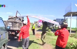 Quảng Trị: Ra quân giải tỏa hành lang an toàn đường bộ