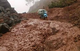 Lai Châu: Bất an trên những tuyến đường bị sạt lở