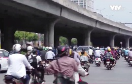 Mật độ giao thông Hà Nội chiều ngày cuối kỳ nghỉ lễ có nguy cơ ùn tắc lớn