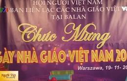 Ấm áp Lễ kỷ niệm ngày Nhà giáo Việt Nam tại Ba Lan