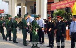 Các tỉnh, thành đồng loạt tổ chức lễ giao quân đợt 1