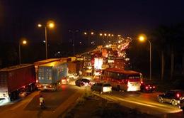 Quảng Nam: Ùn tắc giao thông dài hơn 10km trên quốc lộ 1A