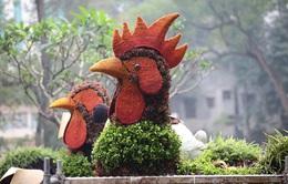 12 con giáp bằng hoa lập thể tại Hà Nội hút du khách