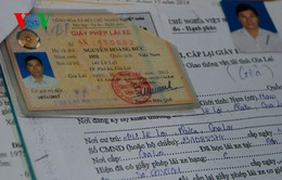 Phát hiện nhiều giấy tờ xe giả tại TT - Huế