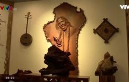 Đưa văn hóa truyền thống vào tác phẩm gỗ