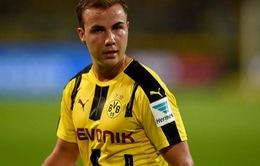 """Dortmund mất Goetze dài hạn sau trận """"hòa như thua"""""""