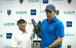 Ý nghĩa của vòng chung kết giải golf Faldo Series Châu Á 2017