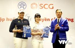 Cặp chị em người Thái mong muốn truyền cảm hứng cho các tay golf trẻ Việt Nam