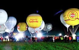 Thú vị cuộc đua khinh khí cầu trên không