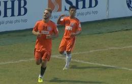 VIDEO Tổng hợp trận đấu: SHB Đà Nẵng 3-0 XSKT Cần Thơ