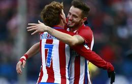 """Đồng đội Atletico Madrid """"đẩy"""" Griezmann về phía Man Utd"""