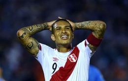 Đội trưởng ĐT Peru dính án phạt cấm thi đấu vì doping