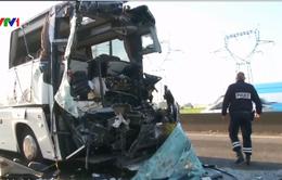 Xe bus Hà Lan gặp tai nạn tại Pháp