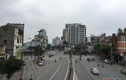 Hà Nội mưa dứt, tiết trời mát mẻ