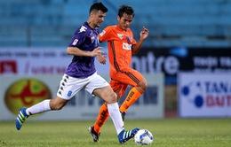 Kết quả vòng 5 V.League 2017: Hà Nội 1-1 SHB Đà Nẵng, Long An 1-2 Hải Phòng, CLB Sài Gòn 1-1 B.Bình Dương
