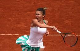 Simona Halep thắng tiến vào vòng 4 giải quần vợt Pháp mở rộng