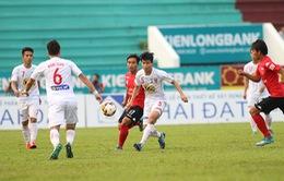 Vòng 18 V.League: Hoàng Anh Gia Lai - CLB Long An (17:00 Trực tiếp trên VTV6)