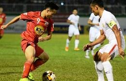 Vòng 19 V.League 2017: XSKT Cần Thơ 1-4 FLC Thanh Hóa, CLB TP Hồ Chí Minh 1-0 HAGL, CLB Long An 2-2 S.Khánh Hòa BVN, CLB Hà Nội 2-2 CLB Sài Gòn