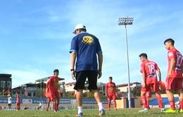 CLB Hoàng Anh Gia Lai chuẩn bị cho trận làm khách của FLC Thanh Hóa