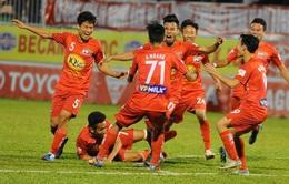 Vòng 22 V.League 2017: CLB Quảng Nam 1-1 HAGL, S.Khánh Hòa BVN 3-2 SHB Đà Nẵng, CLB TP Hồ Chí Minh 1-1 B.Bình Dương